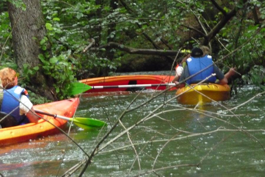 Nawet łagodne rzeki czasem rzucają wyzwania